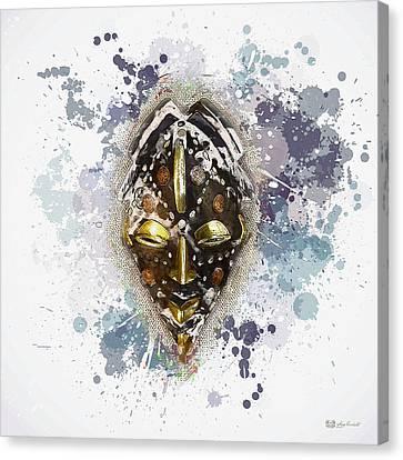 Punu Prosperity Mask Canvas Print