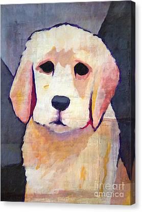 Puppy Dog Canvas Print by Lutz Baar