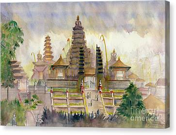 Pura Besakih Bali Canvas Print