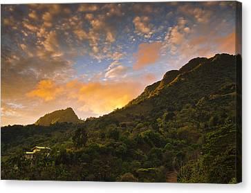 Pura Vida Costa Rica Canvas Print by Aaron Bedell