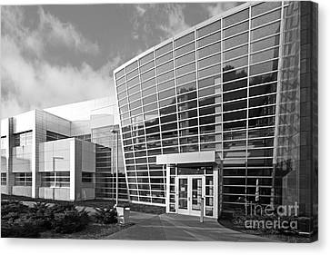 Purdue University Birck Nanotechnology Center Canvas Print by University Icons
