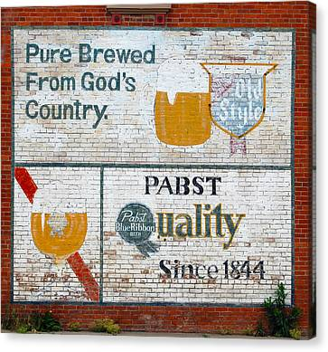 Pure Brewed Canvas Print by Jame Hayes