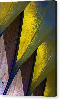 Pure Gold Canvas Print by Raymond Kunst