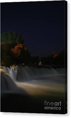 Pure Spirits Of The Waterfall Canvas Print