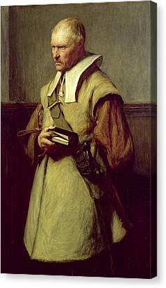 Puritan, Roundhead Canvas Print
