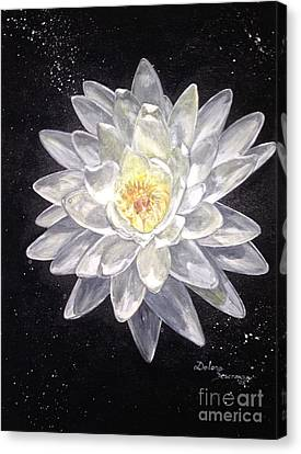 Purity Canvas Print by Delona Seserman