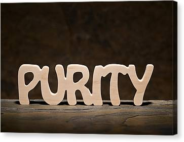 Purity Canvas Print by Donald  Erickson