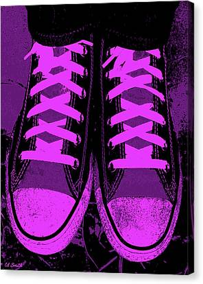 Purpink Canvas Print by Ed Smith
