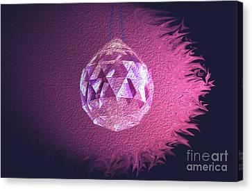 Purple Blaze Canvas Print