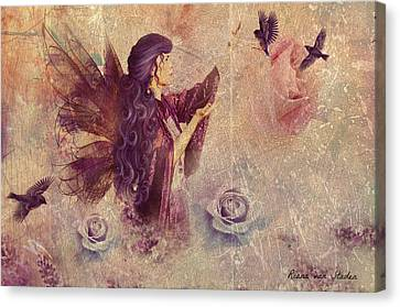 Purple Fairy Canvas Print
