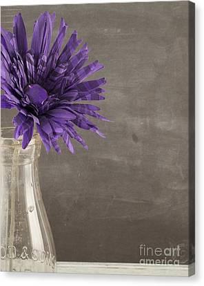 Purple Flower Canvas Print by Juli Scalzi
