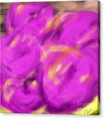 Purple Fruit Canvas Print by James Eye