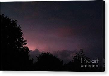 Purple Haze After Storm Canvas Print by Gail Matthews