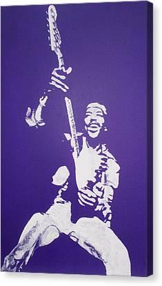 Purple Haze Canvas Print by Gary Hogben