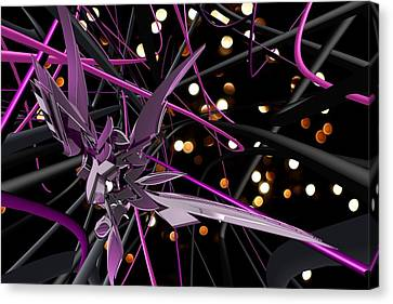 Purple Haze Canvas Print by Louis Ferreira