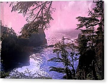 Purple Haze Canvas Print by Marty Koch