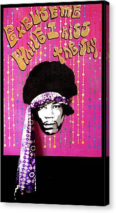 Purple Haze Canvas Print by Victor Cavalera