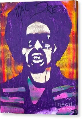 Purple Mac Dre Canvas Print by Tony B Conscious
