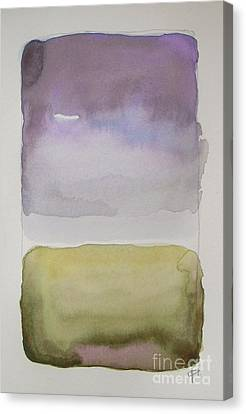 Purple Morning Canvas Print by Vesna Antic