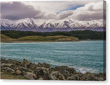 Purple Mountain's Majesty Canvas Print