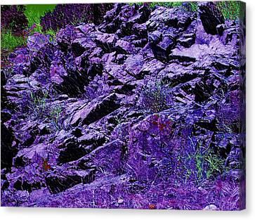 Purple Mountains Majesty Canvas Print