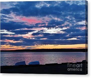 Purple Night Canvas Print