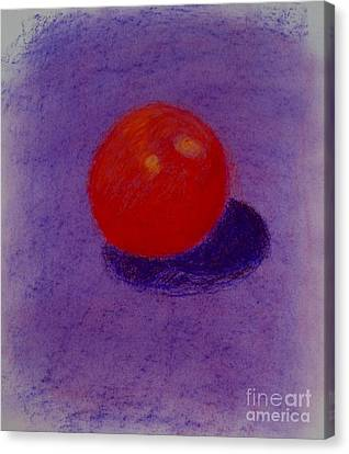Purple Orange Canvas Print by Christopher Murphy