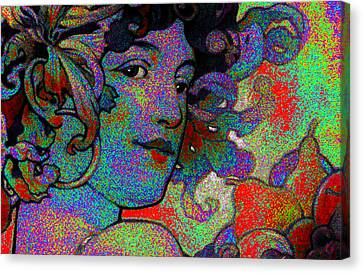 Purple Passion Canvas Print by Dale Michels