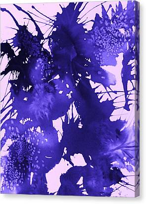 Purple Passion Canvas Print by Ellen Levinson