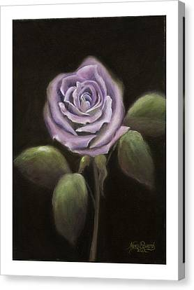 Purple Passion Canvas Print by Nancy Edwards
