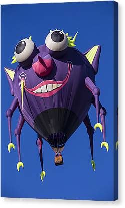 Purple People Eater Canvas Print by Garry Gay