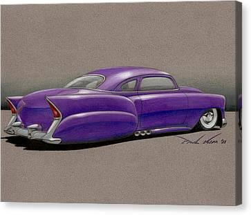 Purple Pleaser Power Canvas Print by Paul Kim