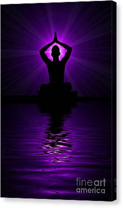 Man Ray Canvas Print - Purple Prayer by Tim Gainey