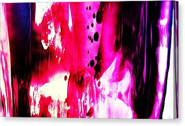 Purple Red Haze Canvas Print