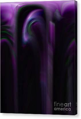 Purple Shadows Canvas Print by Patricia Kay