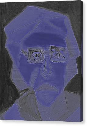 Purple Canvas Print by Shea Holliman