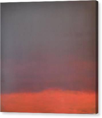 Purple Skies Canvas Print by Jim Ellis