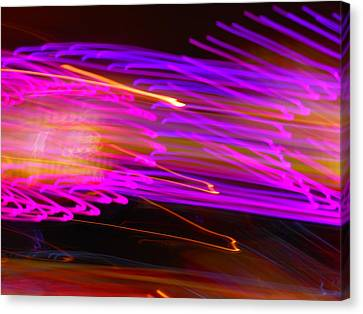 Purple Storm Canvas Print by James Welch