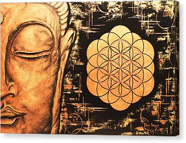 Platonic Canvas Print - Pursuit Of Eternity  by Tony Vegas