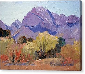 Pusch Ridge Canvas Print