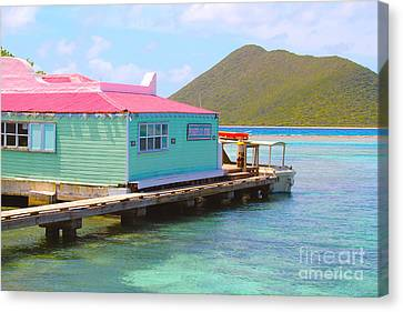 Pussers Bvi Canvas Print