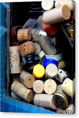 Put A Cork In It Canvas Print by Mary Beth Landis