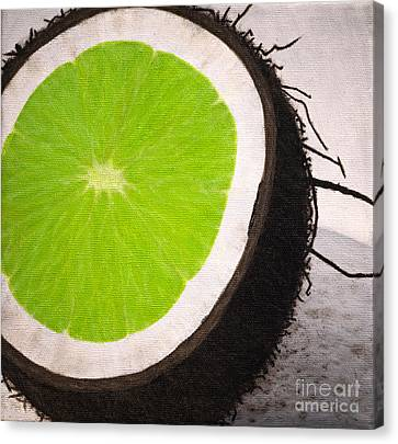 Put The Lime In The Coconut Canvas Print by Philip G