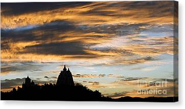 Puttaparthi Sunset Canvas Print