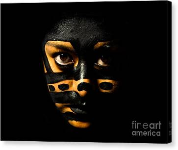 Canvas Print featuring the photograph Pw Ev001 by Kristen R Kennedy