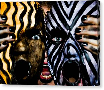 Canvas Print featuring the photograph Pw Gp003 by Kristen R Kennedy