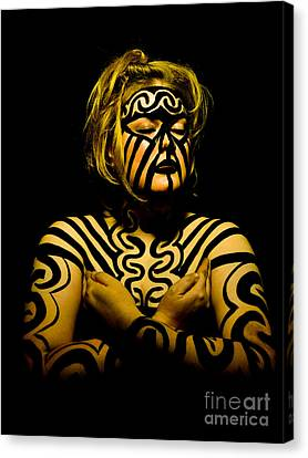 Canvas Print featuring the photograph Pw Jk001 by Kristen R Kennedy