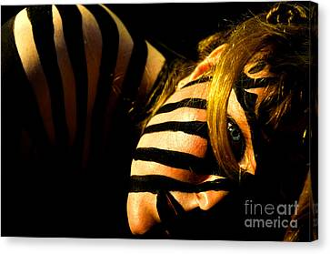 Canvas Print featuring the photograph Pw Jk003 by Kristen R Kennedy