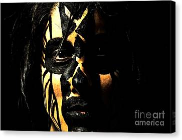 Canvas Print featuring the photograph Pw Kh001 by Kristen R Kennedy