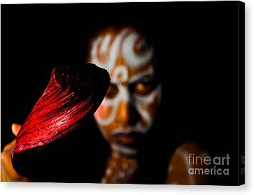 Canvas Print featuring the photograph Pw Kr001 by Kristen R Kennedy